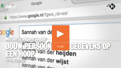 Filmpje NPO3 - Jouw gegevens online